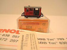 Arnold 2076 Spur N, Schienentraktor Tm 789 der SBB, TOP!  OVP