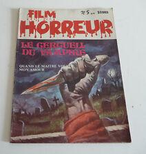 Mag BD Horreur SF Roman PHOTO  FILM HORREUR  N° 5      sep21A