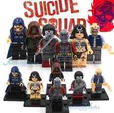 SUICIDE SQUAD MARVEL LEGO COMPATIBLE HARLEY QUINN JOKER DC COMICS BLOCKS...