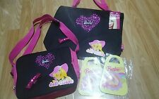*BNWT*Girls Barbie bag set & 2 X  Barbie handbag scribble pads GET NOW FOR XMAS!