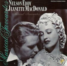 NELSON EDDY & JEANETTE MACDONALD : MUSICAL FAVOURITES / CD - TOP-ZUSTAND