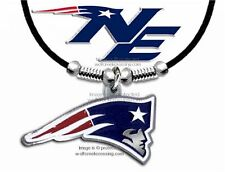 "NEW ENGLAND PATRIOTS NECKLACE for MALE OR FEMALE 24"" NFL JEWELRY FREE SHIP BL x"