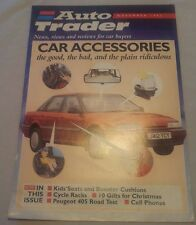 Auto Trader Magazine Supplement Nov 1992 Marcos Peugeot 405 RoadTest Child Seats