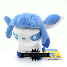 POKEMON GLACEON PELUCHE pupazzo plush center pokedoll eevee Givrali Glaziola 3ds
