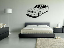 M3 E30 BMW Style Wall Art Vinyl Decal Decorative Sticker Home Removable
