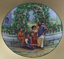Blessed Are the Children I AM THE VINE; YOU ARE THE BRANCHES Plate #7 MIB + COA