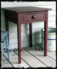Primitive Side Table Nightstand Lamp table Desk Pattern/Plan WN149