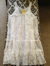 Destination Wedding & Honeymoon!! Catherine Malandrino White Lace Dress NWOT