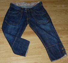 KAPORAL 5 Pantacourt en Jeans pour Femme  W 28  Taille Fr 36 SUNSET (Réf # D114)