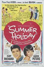 """Cliff Richard Summer Holiday 16"""" x 12"""" Photo Repro Film Poster"""