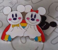 Mickey Minnie Mouse Make the Sun Shine Teru Bozu Tokyo Disney Sea Rainbow Pin