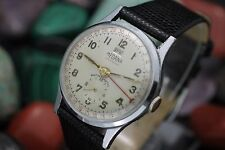 Vintage MEDANA Day Date Pointer Calendar 33mm Men's Dress Watch