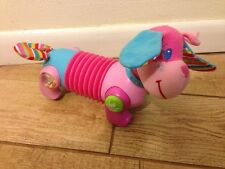 "Baby Toy, encourages crawling, Pink ""walking"" dog - Tiny Love Follow Me Fiona"