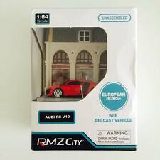 "Hotwheels / Tomica / RMZ City 1/64 Diorama Fashion Shop "" Audi R8 "" - Hot Pick"