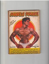 Muscle Power Bodybuilding fitness magazine /John Diehl 2-47