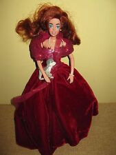 1997 ANASTASIA GALOOB  Doll pearls Dog Pooka. HTF RARE RED GOWN