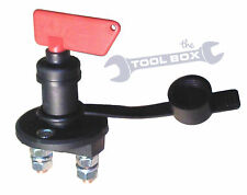Battery Cut Off Switch 100Amp, With Seal and Cap (IP43) Battery Isolation Switch