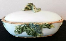 FITZ & FLOYD CAPRESE MARKET COVERED VEGETABLE SERVER BOWL TUREEN RARE NEW