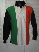 "Barbarian Rugby Ireland Green,White,Orange ""Heavy"" Rugby Jersey Men's LG"