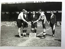 photo press football    1949 finale Racing- Lille      69
