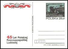Polska Poland 1989 Fi cp 1002 45 lat PRL - Stocznia Warskiego