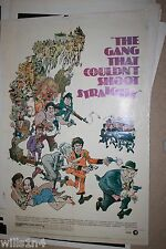 The Gang that Couldn't Shoot Straight Original Vintage Movie Movie Poster 1971