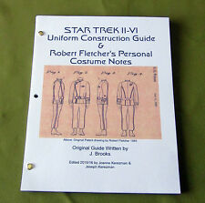 Star Trek Movies Uniform Construction guide (2016) & Fletcher Costume Notes