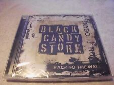 Back to the Wall- Black Candy Store CD-OVP