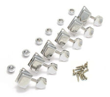 "099-0822-100 Genuine Fender Chrome 70s Style ""F"" Logo Guitar Tuners  Strat/Tele"