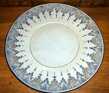 European Faience Art Pottery Charger - Signed w/ Seal