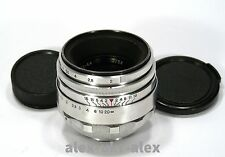 Rare Helios-44 lens 2/58 mm 13 blades for old SLR Zenit M39 mount.№0180947.Exc.