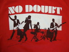 No Doubt Ska Punk Band 2009 Summer Tour Concert Red Cotton T Shirt Size S