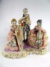 Irish Dresden porcelain lace Soiree figurine
