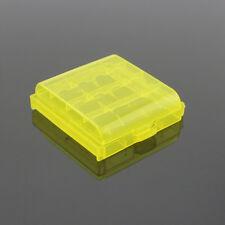 Hotsale Hard Plastic AA AAA Battery Hard Case Boxes Battery Holder Random Color