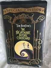Nightmare Before Christmas VHS Special Edition Tim Burton Movie Animated Xmas