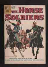 """1959 JOHN WAYNE """" THE HORSE SOLDIERS """"  ORIG COMPLETE COMIC DELL BOOK"""