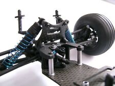 HD carbon Shock tower front for LRP S10 Twister Buggy Truggy, 4mm carbon