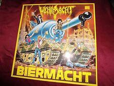 Wehrmacht - Biermacht LP 1988 SHARK 009 RARE Germany