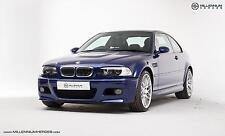 BMW E46 M3 CS // Interlagos Blue // 2005