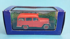 TINTIN CAR Atlas N°57  Jeep des Pompiers L'Affaire Tournesol  1:43 diecast model
