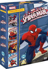ULTIMATE SPIDERMAN VOLS 1 TO 4 DVD NEW REGION 2