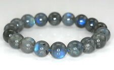 11MM BEAUTY LABRADORITE GEMSTONE GRADE AA  ROUND LOOSE BEADS 7""