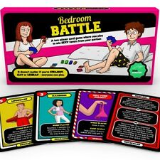 Bedroom Battle Game | Sex Card Game | Adult Couples Naughty Fun | 1st Class Post