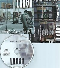 LABAN-CAUGHT BY SURPRISE-REMASTERED IN 2002-GERMANY-SONOPRESS ETCD-11005-CD-NEW-