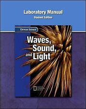 WAVES, SOUND, AND LIGHT, LAB ACTIVITIES MANUAL - NEW PAPERBACK BOOK