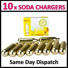 10 x mosa 8g CO2 cartouche soda chargeur non-fileté gaz naturel ampoule brew beer