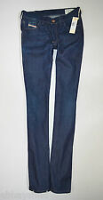"NEW Ladies DIESEL HI-VY 008PU SLIM SKINNY Stretch JEANS W28 L34  size 10 34""leg"