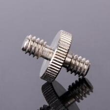 "1/4"" Male Threaded to 1/4"" Male Threaded Double Male Screws Adapter"