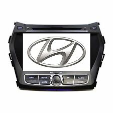 Plug & Play In Dash GPS Navigation DVD Player Radio for Hyundai Santa Fe 13-15