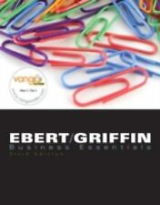 Business Essentials, 6th Edition, Ronald J Ebert, Ricky W Griffin, Good Book